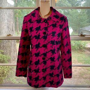 Rafaella Lightweight Coat Long Blazer Size 10